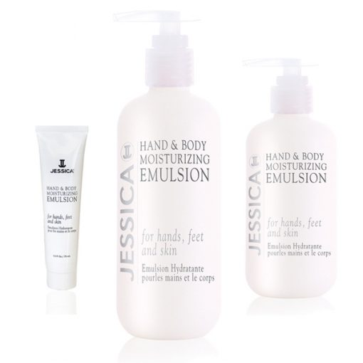 Jessica Hand and Body Emulsion Sizes