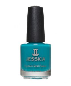 1100 Faux Fur Blue Jessica Nail Polish