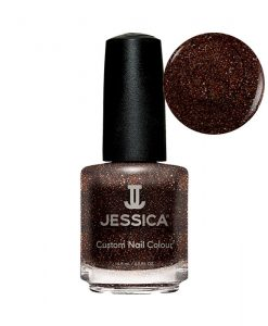 1151 Blinged Out Bronze Jessica Nail Polish