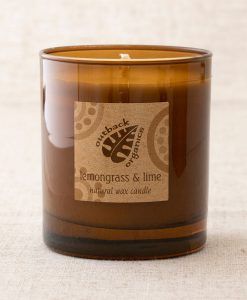 Outback Organics Lemongrass & Lime Candle